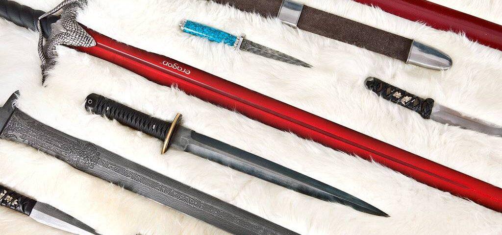 Christopher Paolini: l'arte del forgiare spade e spadaccini