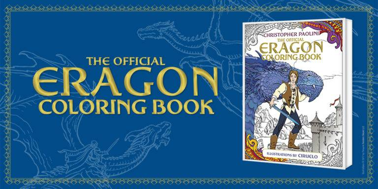 Eragon Colouring Book