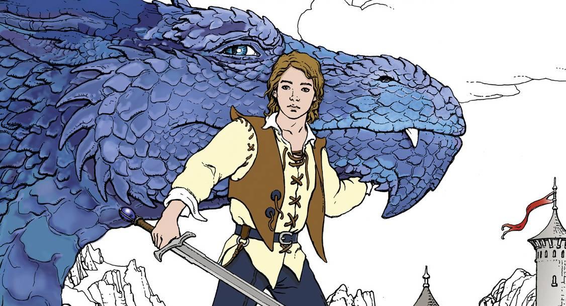 Eragon Colouring Book